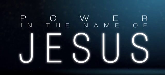 The name of Jesus Christ